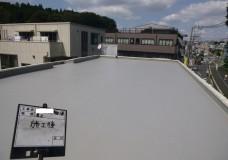 Kマンション屋上:塩ビシート機械固定工法